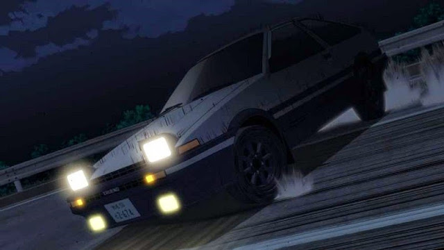 Initial D Legend 1 Awakening 2014 movie still AE86 Trueno