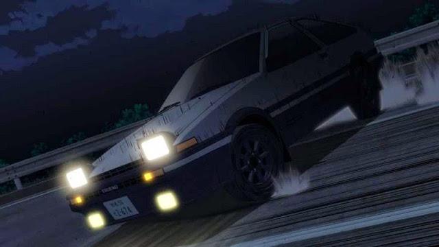 Initial D Legend 1 Awakening 2014 movie still AE86 Trueno