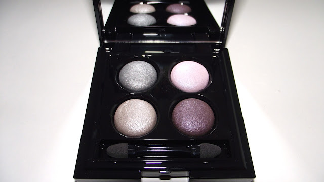 Autograph By M&S Pure Colour Baked Quad Eyeshadow Review - Purple Mix
