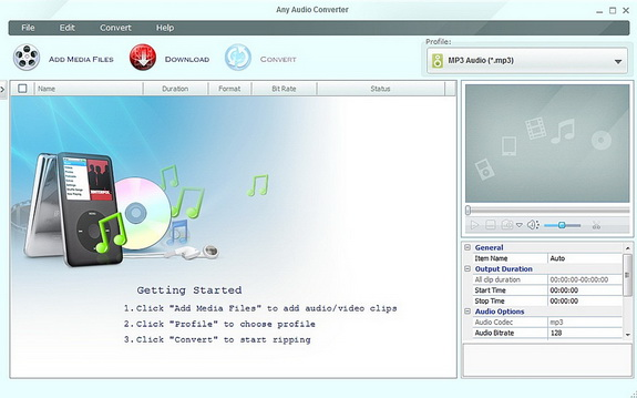 Any Audio Converter: Satu Program untuk Konversi File Audio