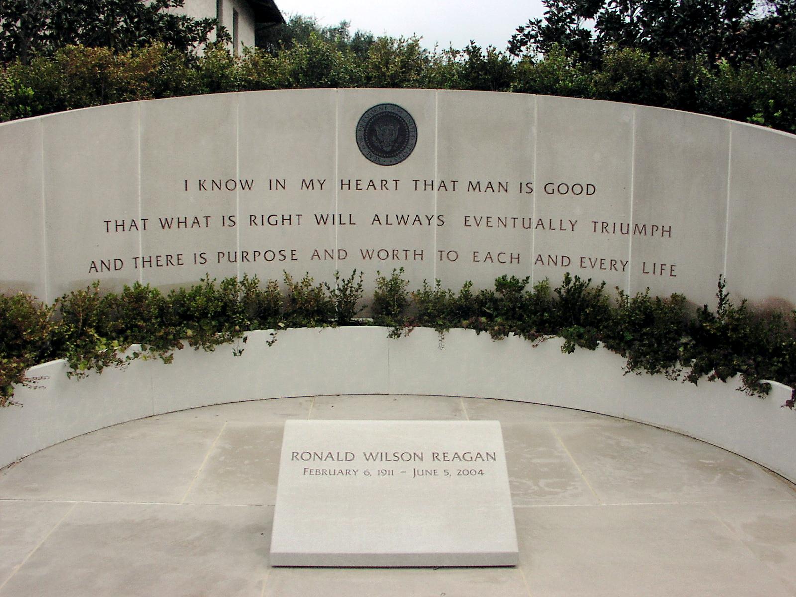 ronald reagan memorial day youtube