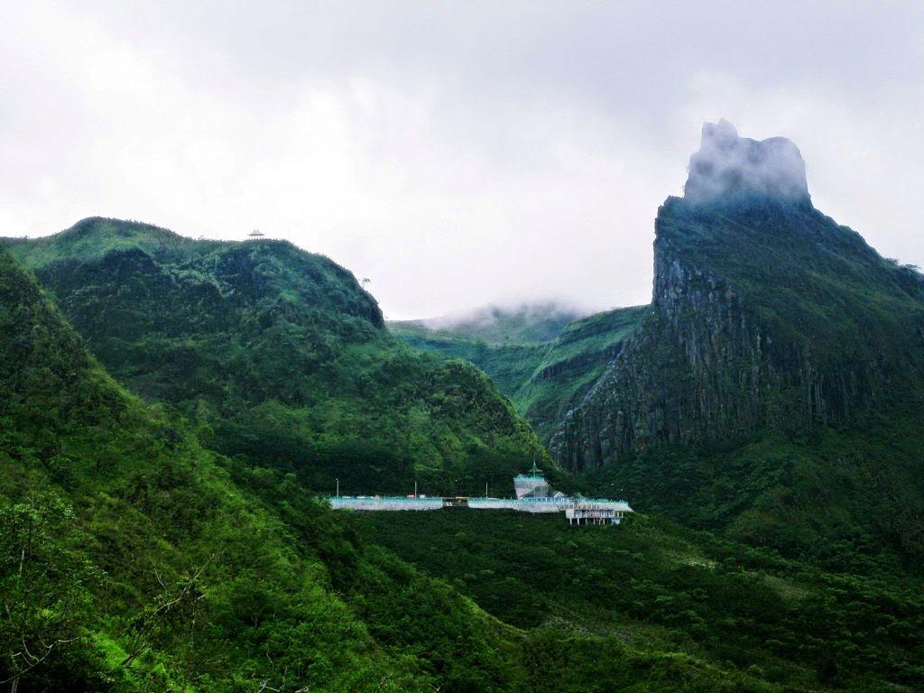 Gunung Kelud di Kediri