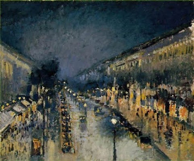 Boulevard Montmartre: Nit (Camille Pissarro)