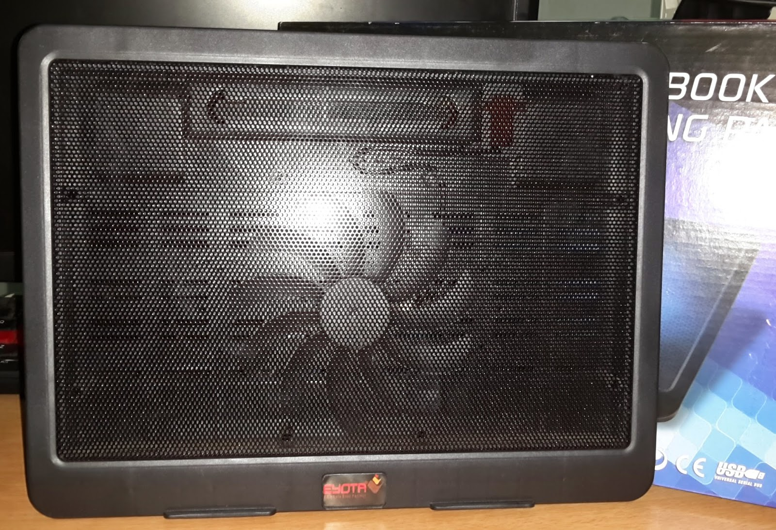 Notebook Cooler Big Fan Eyota N19