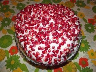 Narlı Kremalı Kek Tarifi