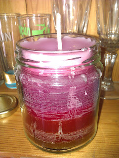 Bubblegum Scented Candle In a jar