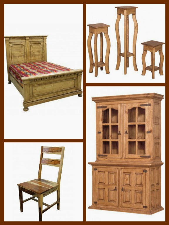 Rustic furniture by TRESAMIGOS