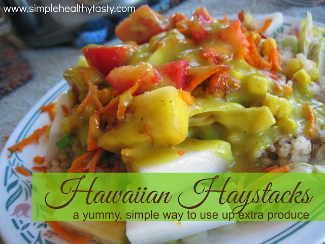 Hawaiian Haystacks the Healthy way