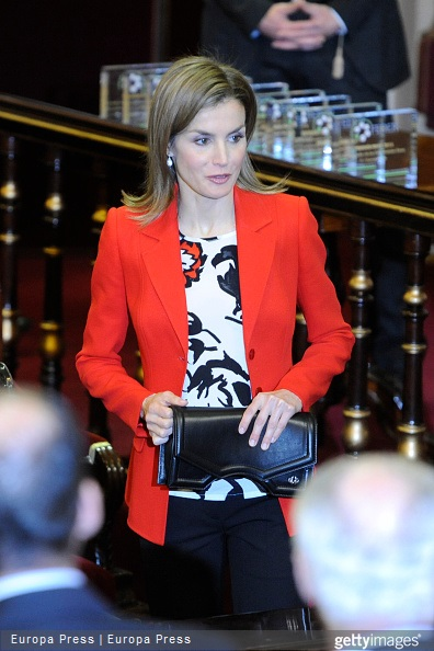 Queen Letizia of Spain attends the Rare Diseases World Day event at the Spanish Senate on March 5, 2015 in Madrid, Spain.