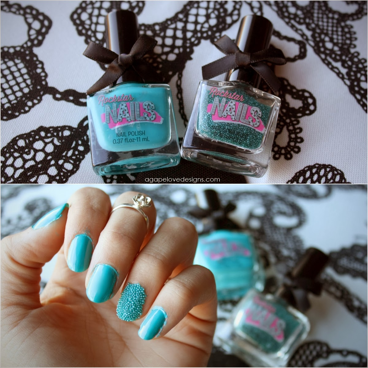 Agape Love Designs: Rockstar Nails Review & Feb BB5 Unboxing