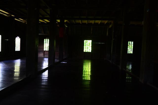 Interior Rumah Adat Mandar Kab. Polman