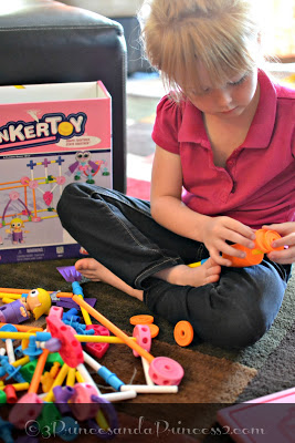 Tinkertoys New Pink Building Set