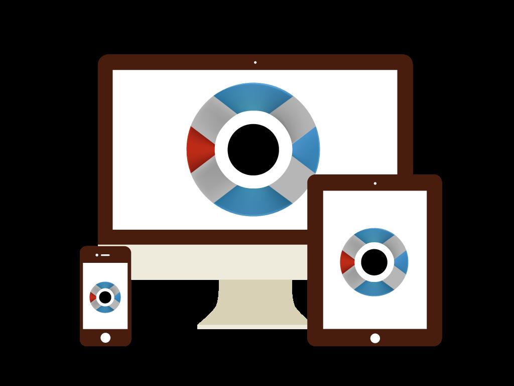 Dispositivos usar catálogo electrónico.