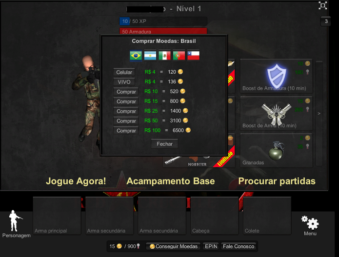 Jogar Jogo Red Crucible Game Online