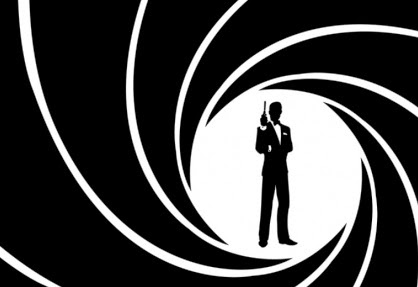 James Bond intro