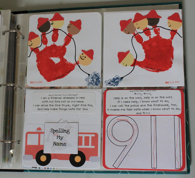 Fire Truck Craft Preschool http://totallytots.blogspot.com/2012/09/crafty-corner-community-helpers.html