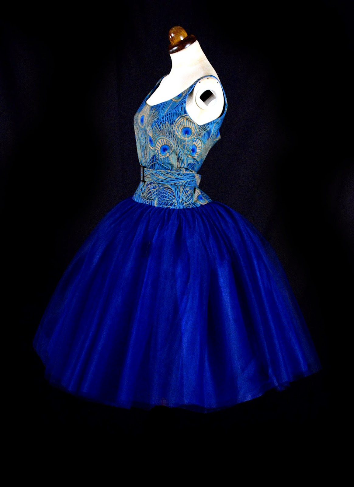 Alexandra King peacock dress