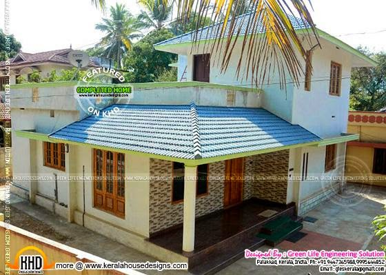 Completed house in Palakkad