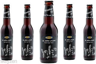 Öl Mörk Lager, la cerveza de IKEA