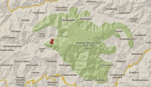 nepal_earthquake_epicenter_map_khaptad_national_park
