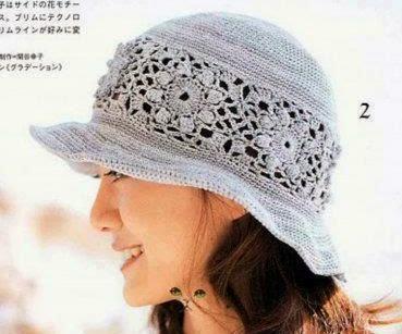 Sombrero a Crochet o Ganchillo