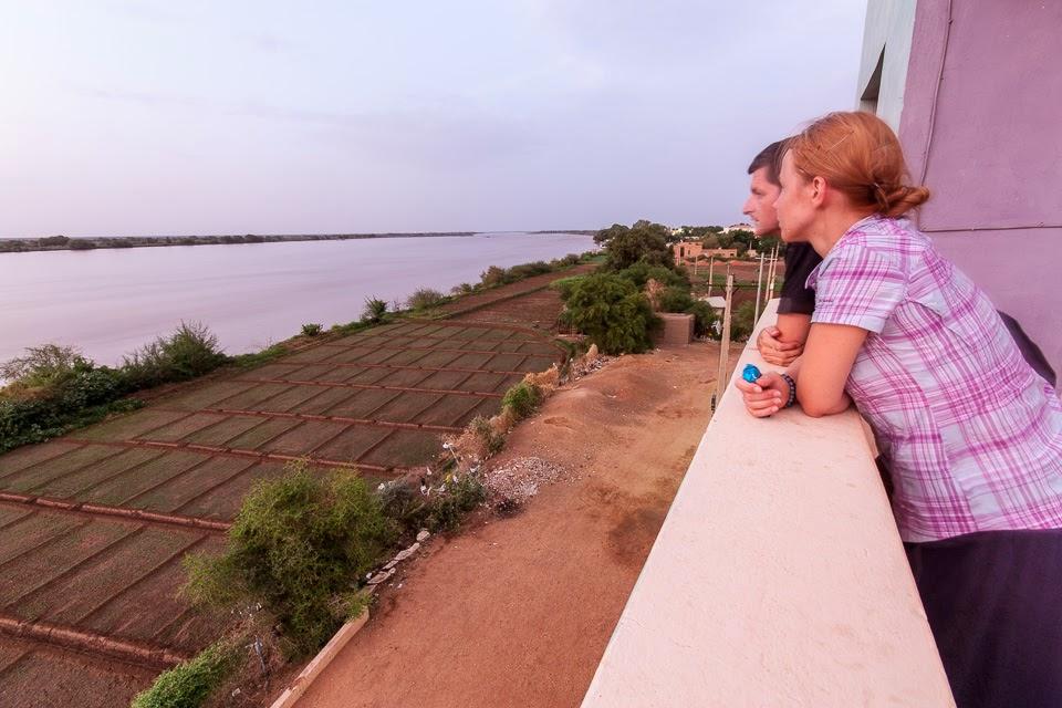 a Nílus a szállodából Sendiben