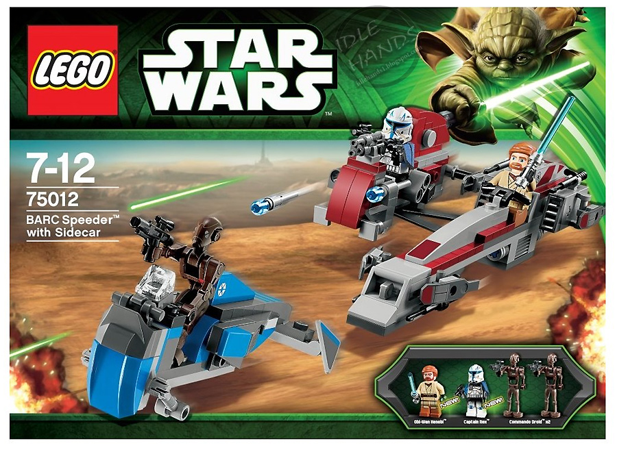 Idle Hands: LEGO in 2013: Forever Star Wars