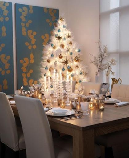 бяла елха украса