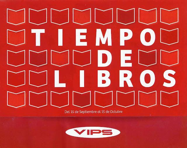 portada pieza de comunicación Tiempo de libros de VIPS