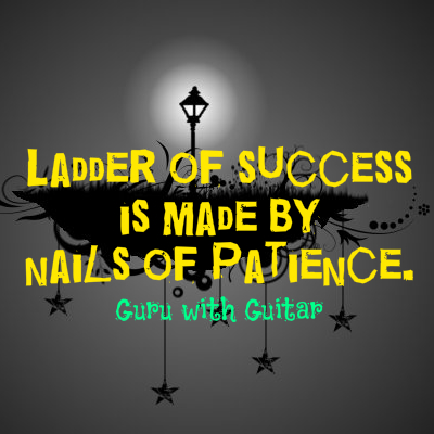 ladder_success_nails_patience_quote_vikrmn_guru_with_guitar_gwg_novel_chartered_accountant_ca_author_srishti_vikram_verma