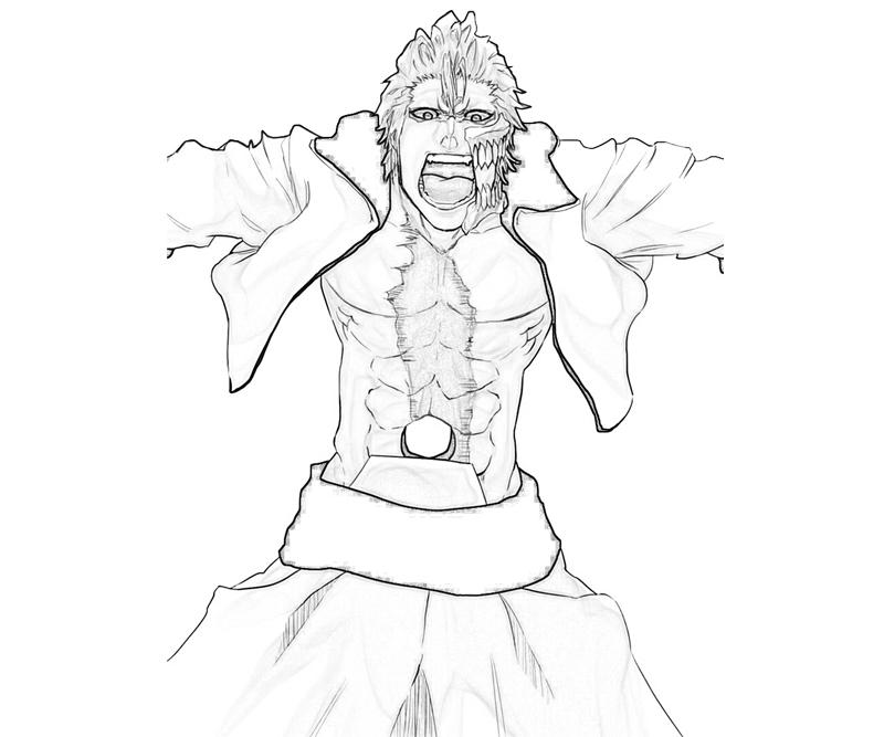 grimmjow-jaegerjaquez-angry-coloring-pages