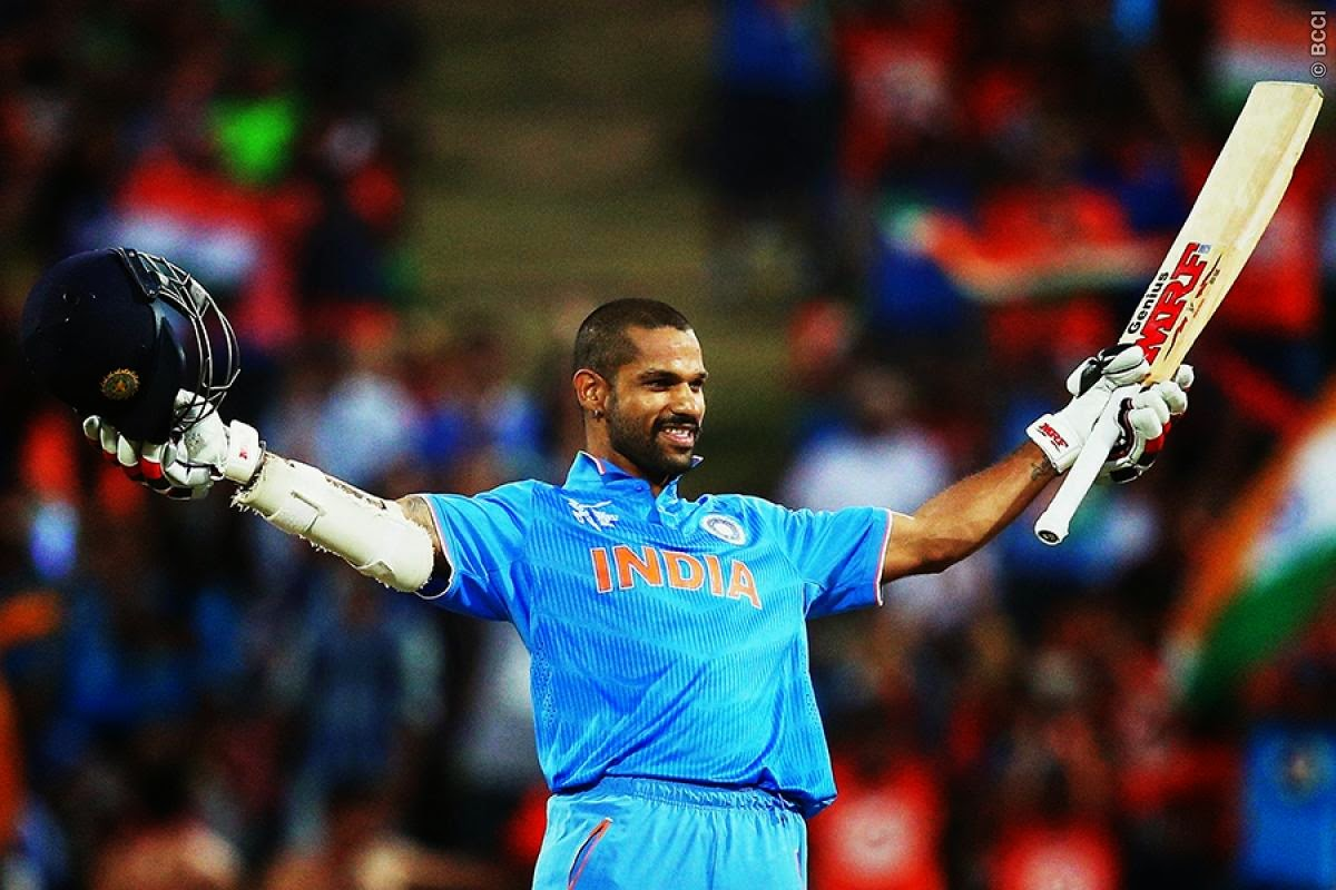 Shikhar Dhawan - India vs Ireland, World Cup 2015