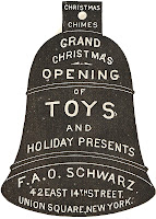 F.A.O. Schwarz Antique Christmas Advertisement via Knick of Time