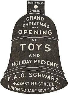 F.A.O. Schwarz Antique Christmas Advertisement - KnickofTime.net