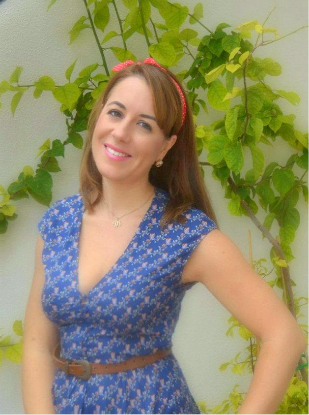 Cocina con Marta. Autora del blog, entrevista radio.