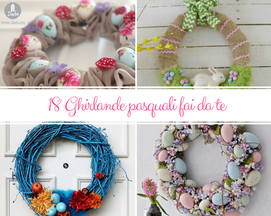 18 Ghirlande Pasquali Fai Da Te Kreattivablog