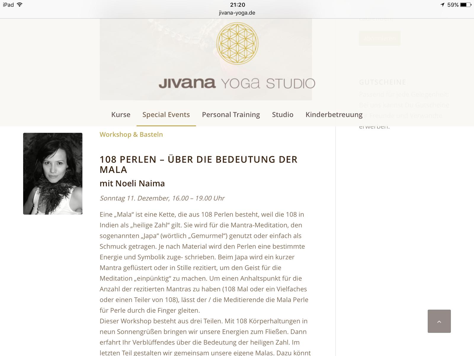 Noeli Naima Yoga & Wellness Oase