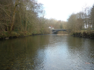 Irfon Bridge, River, Irfon, Builth Wells, Fly Fishing, Grayling