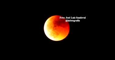 Ver en vivo eclipse luna de sangre 8 octubre