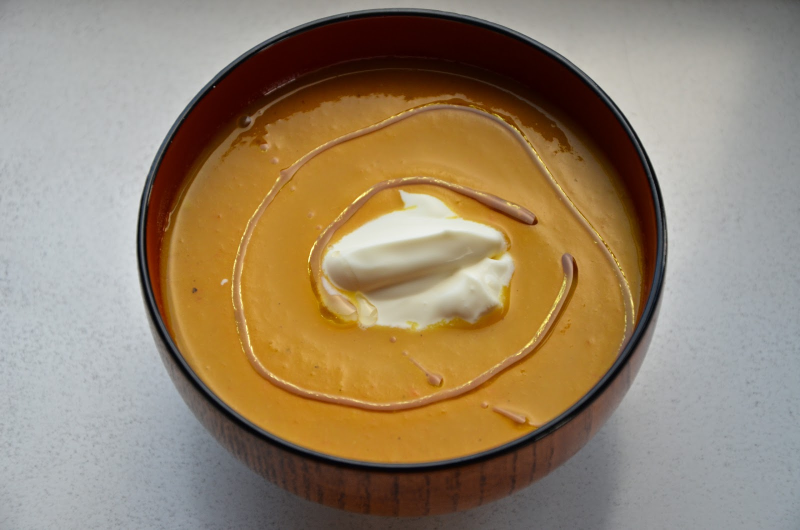 pompoen-wortelsoep