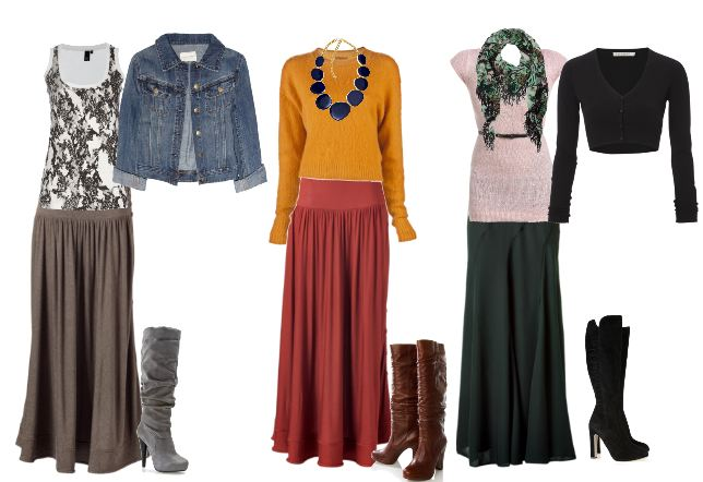 how to wear a maxi skirt if you& 39
