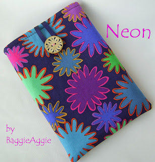 Purple pink Kindle case sleeve cover pouch, Nook, iPad MIni, Paperwhite, Nexus 7, Galaxy Tab, baggieaggie.com,