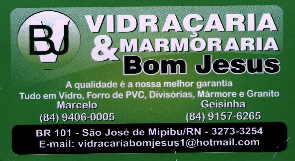 VIDRAÇARIA & MARMORARIA BOM JESUS