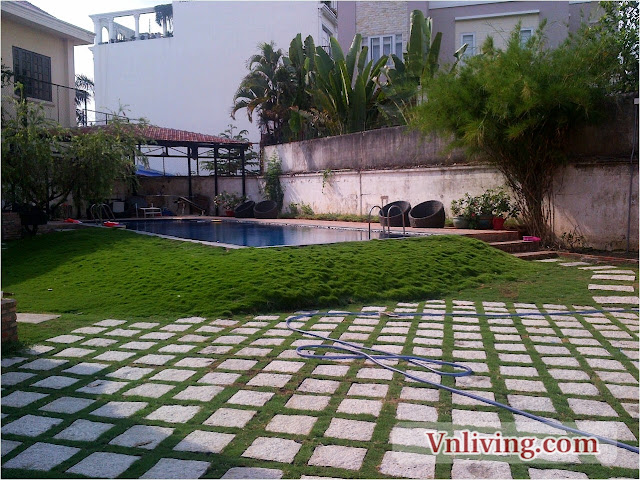 House for rent in 42 St - Thao Dien Ward Dist 2 with nice pool
