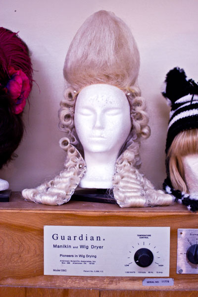 Wig Dryer Cabinet ~ South coast repertory an inside look with scr s wig