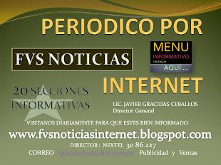 FVS NOTICIAS INTERNET & INTERNATIONAL PRESS TELEVISIÓN