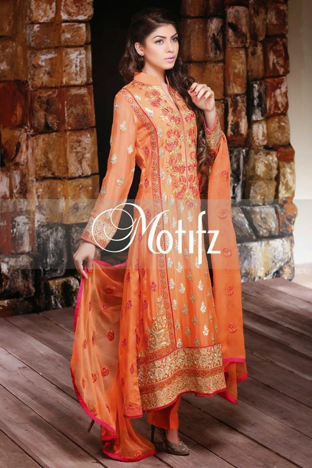 Motifz modern chiffon dress