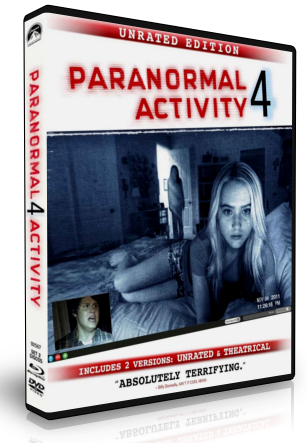 Paranormal Activity 4 DVDR NTSC Español Latino