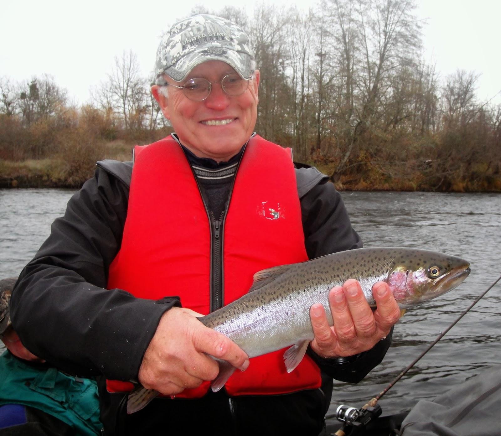 Rogue river steelhead fishing report rogue river fishing for Rogue river fishing report