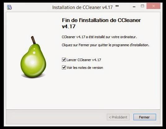 comment installer ccleaner de periform le vrai et gratuit bien sur
